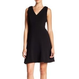 London Times Textured Fit & Flare Dress | 8